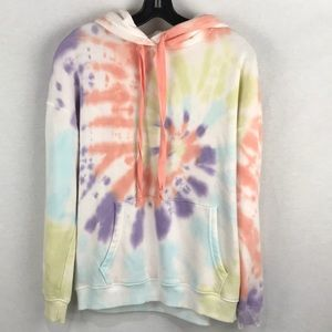 American Eagle hoodie xs tie dye